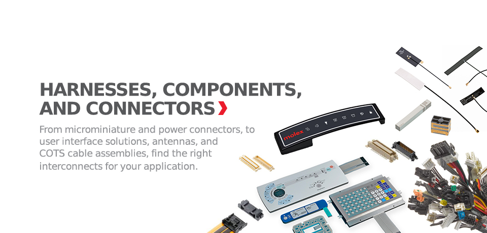 Molex Electronic Solutions | Connectors, Cable Assemblies