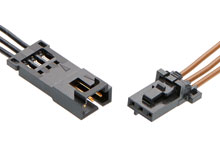 Wire-to-Wire Connectors - Molex on 4 pin power supply, 4 pin power cord, 4 pin spark plug, 4 pin usb cable, 4 pin relay,