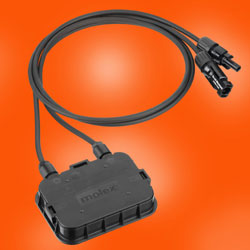 Molex SolarSpec Junction Box