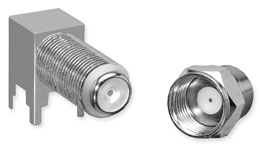 Type F RF Connectors - Molex