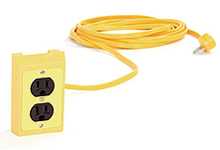 DROP-CORD BOX (RECEPTACLES)