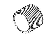 WOODH 55-0426 1 NM CPLG NUT